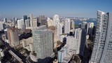 Aerial video of Brickell