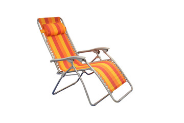 chaise longue isolated