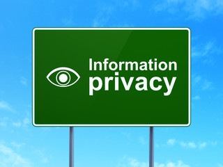 Protection concept: Information Privacy and Eye on road sign