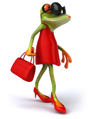 Sexy frog