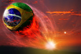 Brazil ball in galaxy