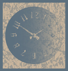 Grunge Time Background