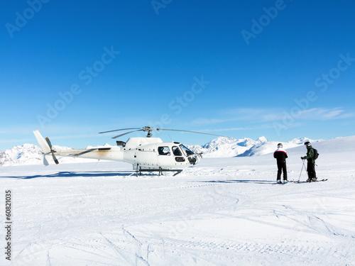 Papiers peints Hélicoptère elyski