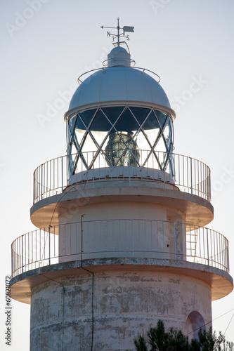 Cabo de San Antonio Cape Lighthouse in Denia Javea of Alicante Poster