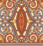 orient seamless pattern