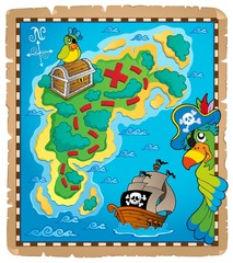 Treasure map topic image 9