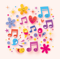 happy music background