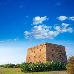 Tabarca island tower Torre de San Jose castle Alicante