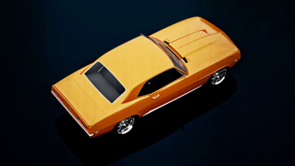 Vintage car top