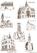 Stadtansichten Adorf Gebäude historisch Architektur