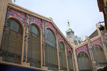 Mercado Mercat Central market in Valencia Spain
