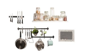 Küchenwand - Vorräte