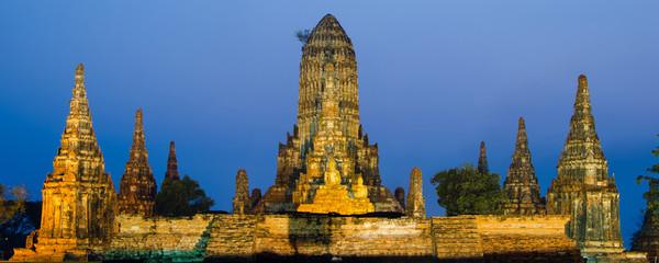 Wat Chaiwattanaram temple in Ayutthaya Historical Park