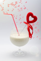 Heart in a glass