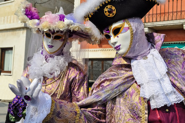 Coppia veneziana - Carnevale Venezia 2012