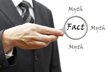 Fact myth concept