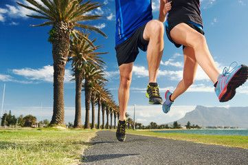 Running couple fitness
