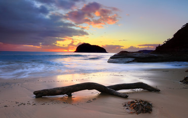 Sunrise Lion Island, Australia