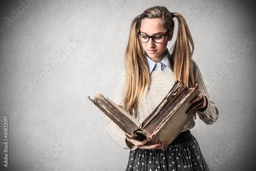 learning girl