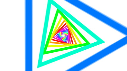 Never ending triangles.