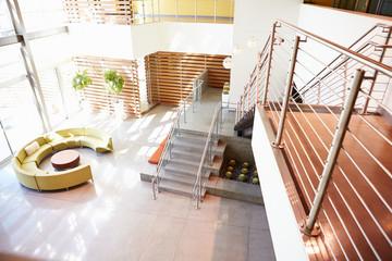 Empty Reception Area In Modern Office