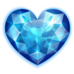 Heart-shaped Sapphire