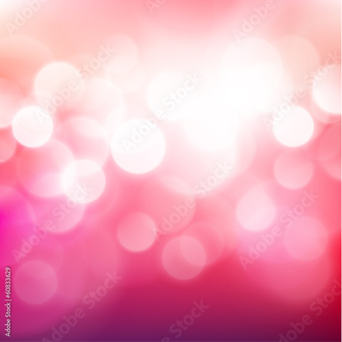 Festive background with defocused lights