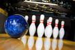 Leinwanddruck Bild - bowling