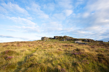 Bellever Tor Dartmoor Devon Uk