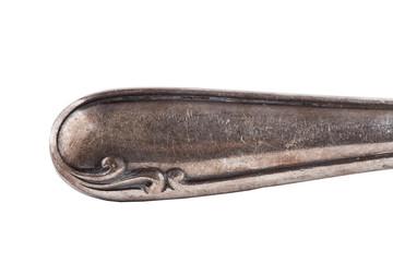 Dekor Messergriff Silber antik