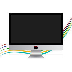 vector monitor screen