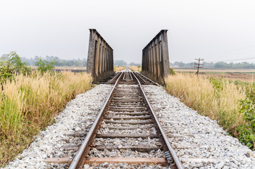 Railway bridge in Thailand