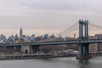 New York City Bridges and Streets