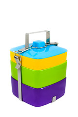Colorful Food Carrier
