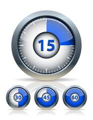 Set of timer clock