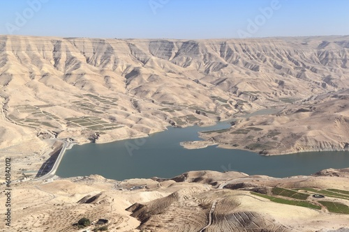 Wadi el Mujib Dam and Lake, Jordan
