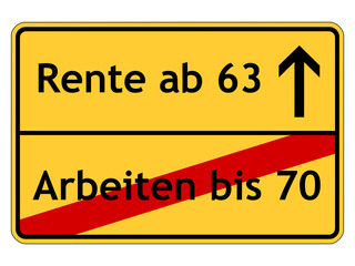 Rente ab 63