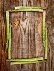 Asparagus frame
