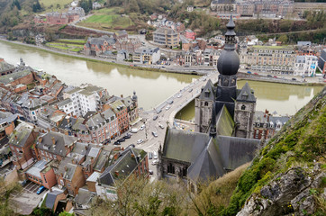 Dinant, Belgium, panorama from the Citadel
