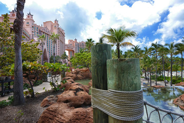 Nice view of Atlantis Bahamas from interior