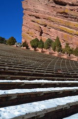 Red Rocks Amphitheater in Morrison, Colorado