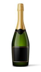 Bouteille de champagne vectorielle 1