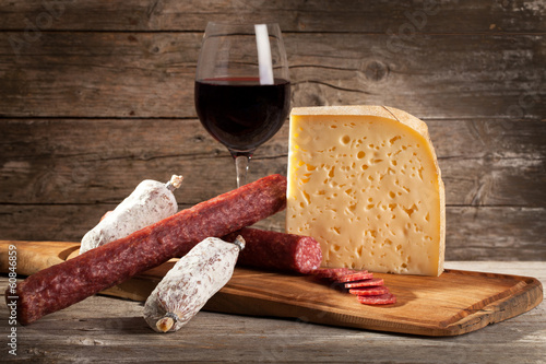 Italian Cheese And Salami