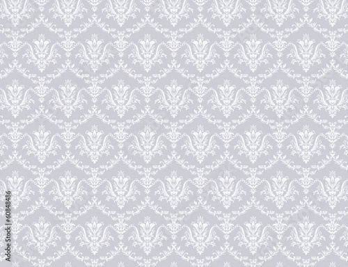 floral pattern wallpaper - 60848486