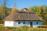 Old traditional rural house in Ukraine