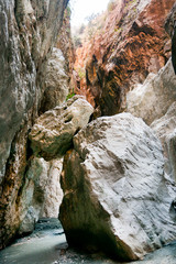 Saklikent Canyon near Fethiye in Turkey