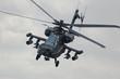 Leinwanddruck Bild - Apache helicopter