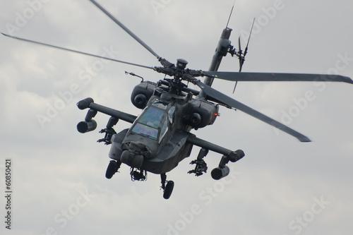 Leinwanddruck Bild Apache helicopter