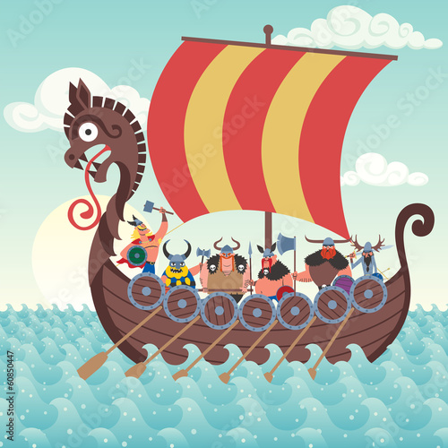 Viking Ship - 60850447