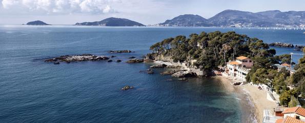 landscape of golfo dei poeti
